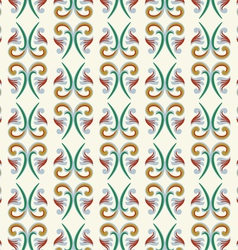 Asian tradition art pattern vector image