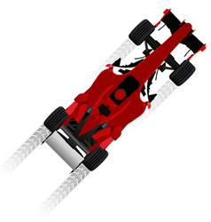 formula racing car vector image