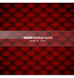 Scallop background vector