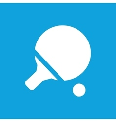 Ping pong icon simple vector