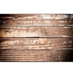 Wooden Background Border vector image