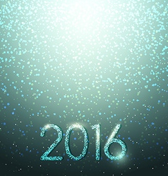 New years shining background christmas inscription vector