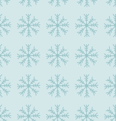 Seamless winter texture hand drawn snowflakes vector
