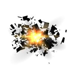 An abstract explosion vector