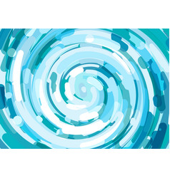 Abstract background with waves of fresh water vector