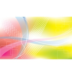 abstract stripes and dots background vector image vector image