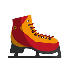 ice skates icon image vector image vector image
