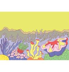 Sea weed vector