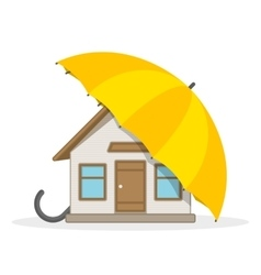 House insurance concept vector image