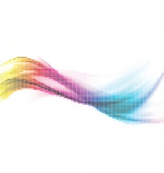 Rainbow mosaic vector