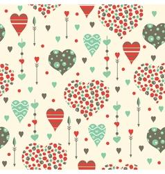 Valentine pattern vector