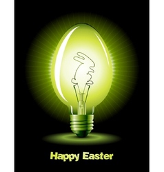 easter bulb vector image