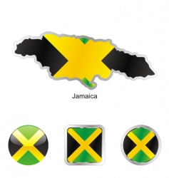 Jamaica vector image vector image