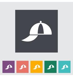 Peaked cap vector image vector image