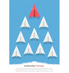 Leadership concept vector