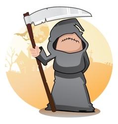 Cartoon Grim Reaper vector image