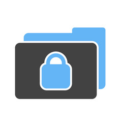 secret folder vector image
