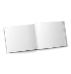 Blank spread album template vector