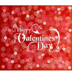 Valentines day card background text bokeh light vector