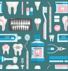 health care dentist medical tools medicine vector image vector image