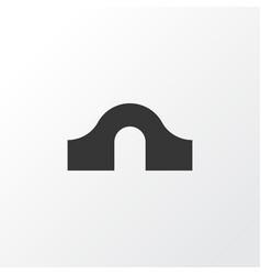 Hump bridge icon symbol premium quality isolated vector