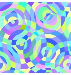 Seamless abstract pattern with circles vector image vector image