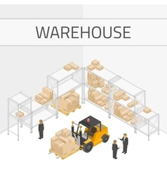 Warehouse vector
