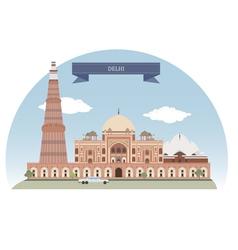 Delhi vector