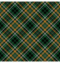green tartan celtic fc seamless pattern diagonal vector image vector image
