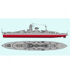 military navy ships vector image vector image