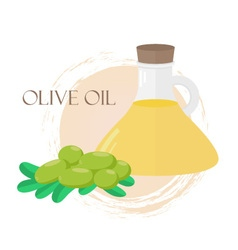 oliveoil vector image vector image
