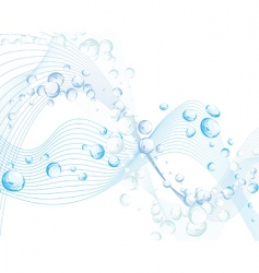 Water background vector