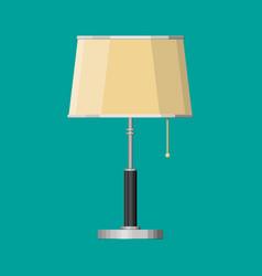 Furniture interior lamp lighting equipment vector