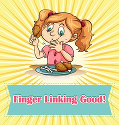 Finger linking good vector
