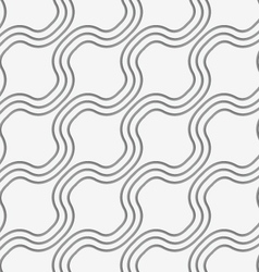 Perforated diagonal bulging waves vector