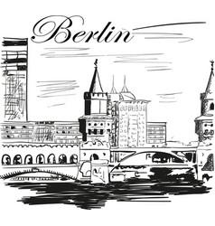 berlin vector image