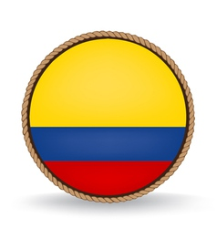 Colombia seal vector