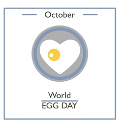 World egg day vector