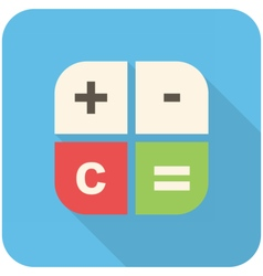Calc icon vector