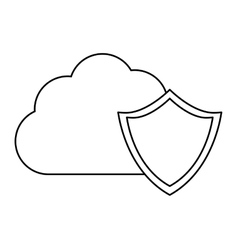 Database optimization and tuning shield image vector