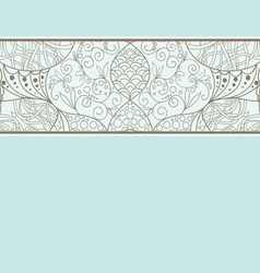 Decorative element border vector