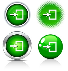 Entrance buttons vector