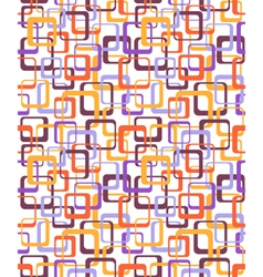 Seamless bright fun abstract pattern with squares vector