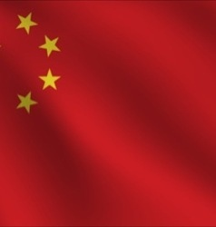 China flag vector