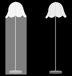 Two lamps vector