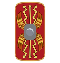 Legionary shield vector image