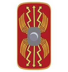 Legionary shield vector