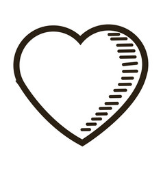 Love heart romantic feeling emotion image vector
