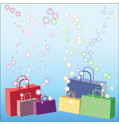 shopping galore vector image