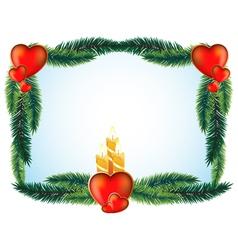 Valentines Day original frame vector image